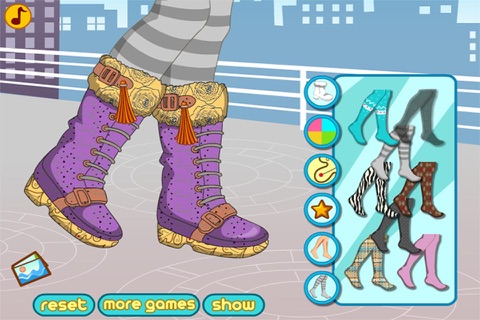 Winter Boots Decor : Shoes Design And Makeover screenshot 4