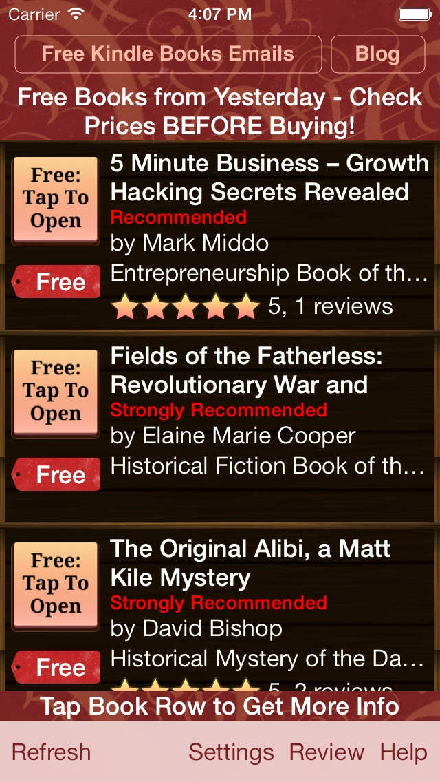 download Free Books for Kindle UK apps 2