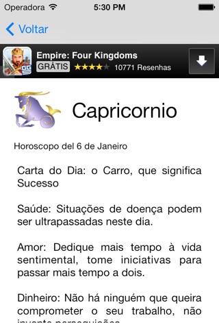 Horoscopo do Dia screenshot 4