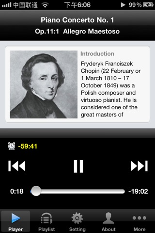 Chopin Piano Concertos screenshot 1