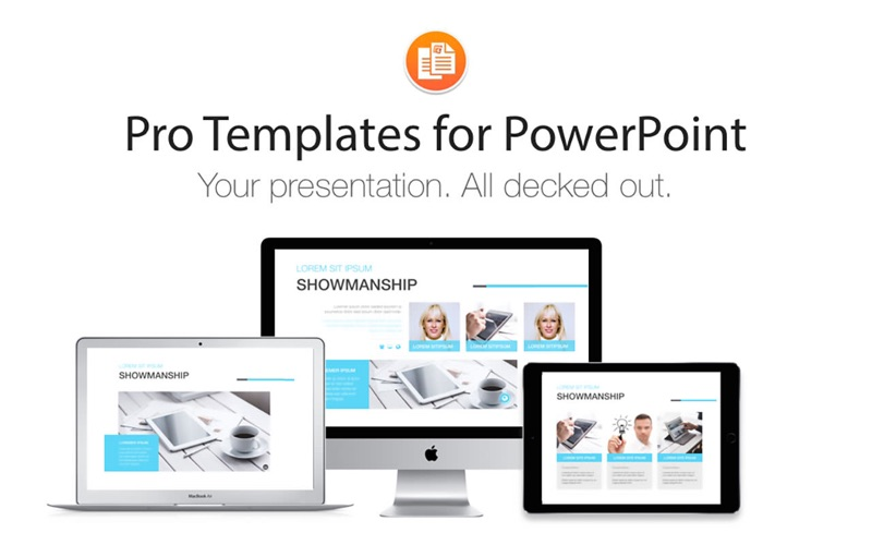 Pro templates for powerpoint on the mac app store for App store screenshot template