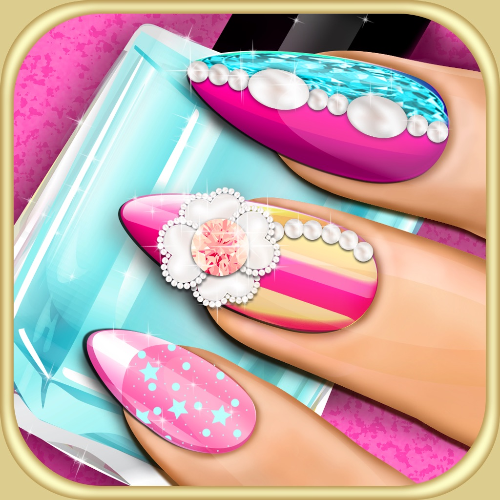 Nail makeover 3d beauty salon diy fancy nails spa for 3d beauty salon games