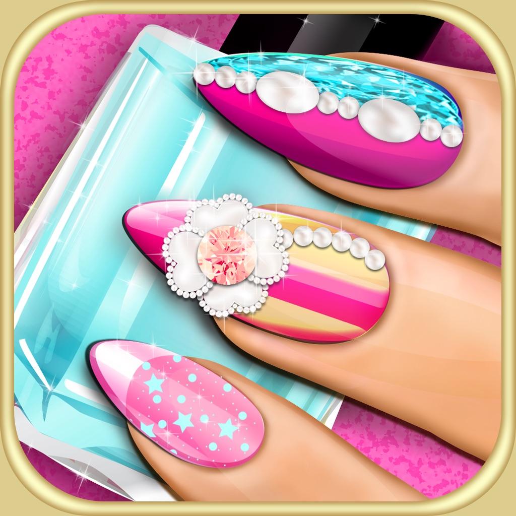 Nail Makeover 3D Beauty Salon: DIY Fancy Nails Spa