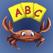 독일어 알파벳 플래시 카드 말하기 - 아이, 취학 전 아동, 초등학생, 성인 5 년에서 - 언어 교육 학습 - 아이 패드 와 아이폰 를 위해 디자인