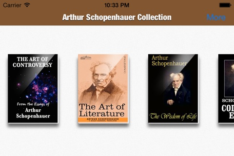 The Arthur Schopenhauer Collection screenshot 2