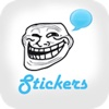 i'Funny Rages Faces - Stickers for WhatsApp,  Viber, Telegram,  Tango & Messengers