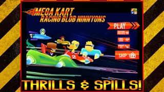 Мега Kart Racing Зло Blob Ninnyons Бесплатные игрыСкриншоты 3