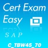 CertExam:SAP C_TBW45_70