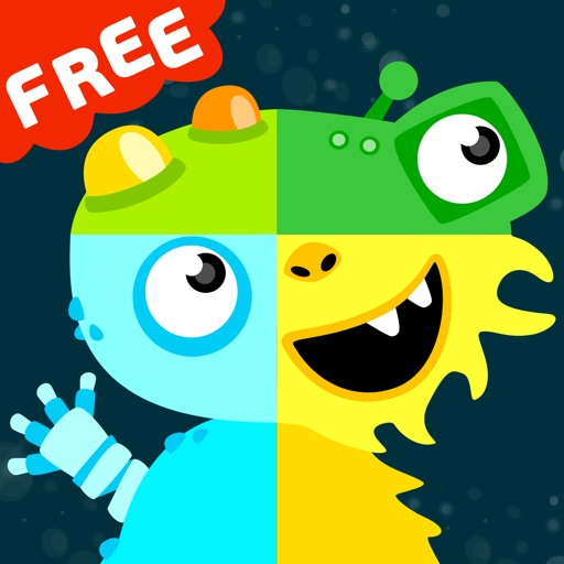 MooPuu FREE - The Animated Monster Puzzle iOS App
