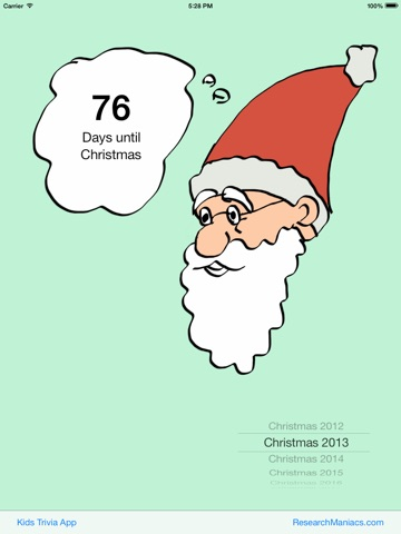 How many days until Christmas? on the App Store