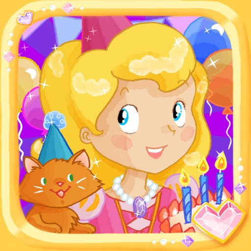 Princess Birthday Party Puzzles for Kids: Attend a Royal Party with Princesses, Ponies, Kittens, and More! - Education Edition