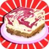 Princess's Jelly Swirl Cheesecake Slice