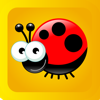 Puzzle - fun for kids 2 : free puzzle app for children 2-4 years with balloons, spider, fly, fish,bugs, insects, sounds and other funny animals, suitable for kindergarten and preschools