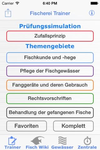 Fischerei Trainer Brandenburg screenshot 1
