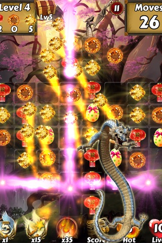 Lucky Dragon Kingdom Adventure - Find the magic ball to save city z screenshot 2