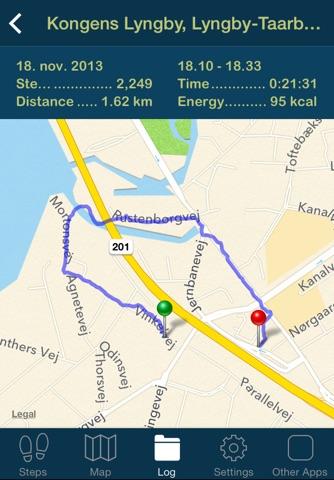 iSteps GPS Pedometer PRO screenshot 4