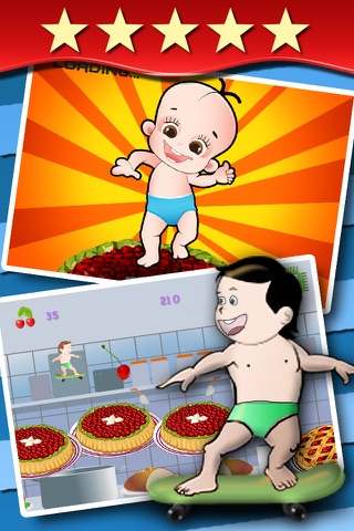 All Babies Dance on Pies - cute baby games for girls and boys free screenshot 1