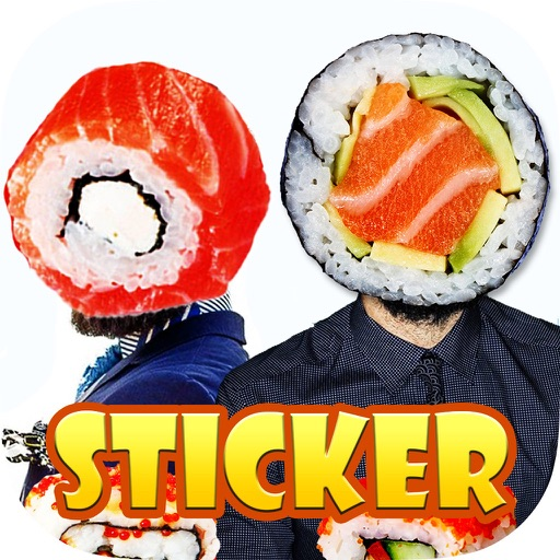 Kawaii Sushi Stlye -Decorate Pictures with lovely Sticker Decoration for Photos iOS App