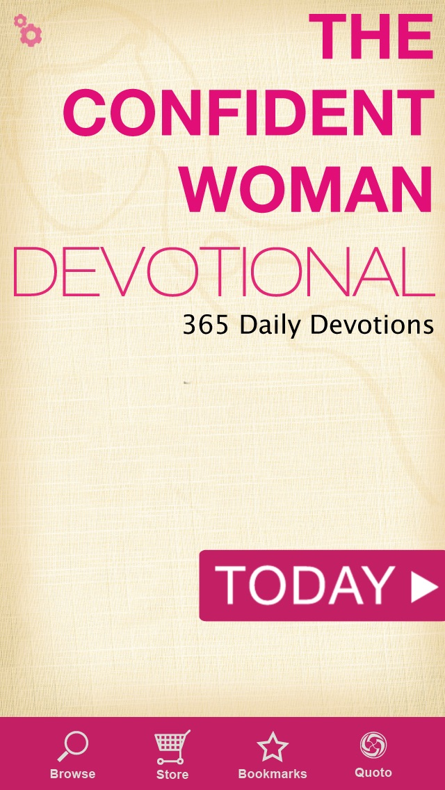 The Confident Woman Devotional Screenshot