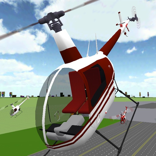 Helicopter Race iOS App