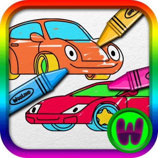 Toddler Car Paint iOS App