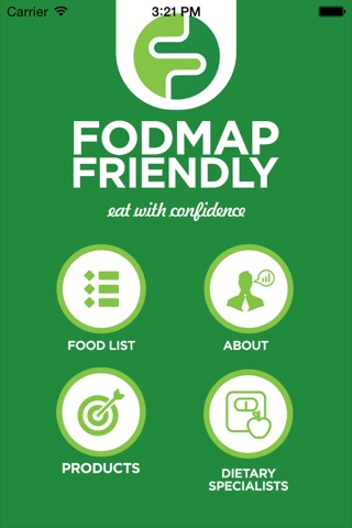 FODMAP Friendly screenshot 1