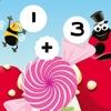 Calcola Somme Candy! Trovare la Soluzione in Gran Bug `s Life! Gioco Educazione Matematica Per