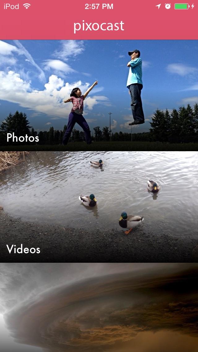 how to put iphone photos on chromecast