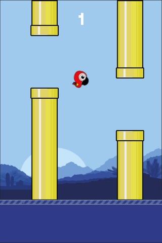 Flappy Parrot HD screenshot 1