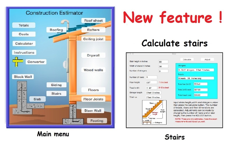 Construction estimator app download android apk for Home construction estimate calculator