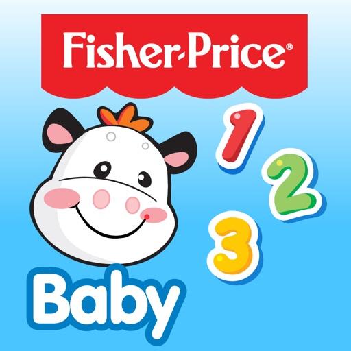 Fisher-Price フィッシャープライス  どうぶつさんを数えよう :赤ちゃんからの英語アプリケーション