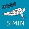 5 Minute PLANKS Famous Workout routines - Premium Version