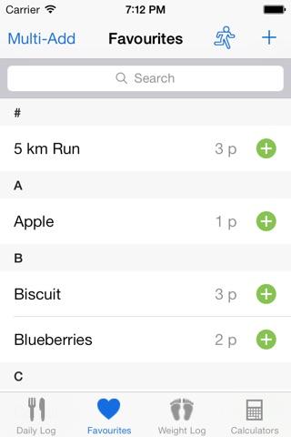 iSkinny - Food Diary and Weight Tracker screenshot 3