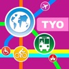 Tokyo City Maps - Discover TYO with Subway, Bus, and Travel Guides.