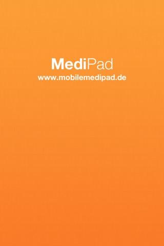 MobileMediPad screenshot 1