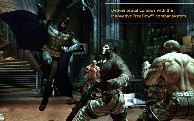Screenshot #4 for Batman: Arkham Asylum
