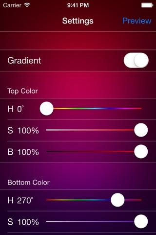 Background Color screenshot 1