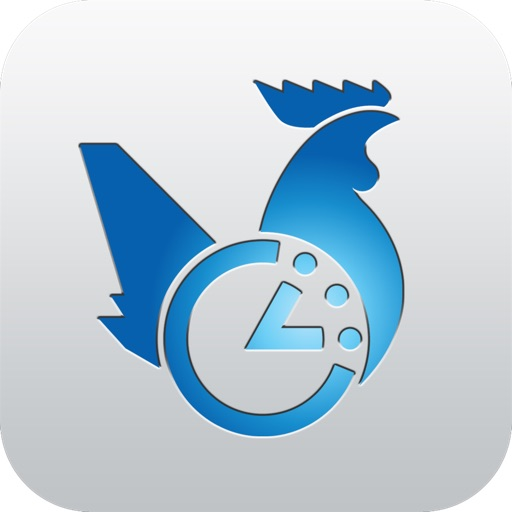 Jet Lag Rooster iOS App