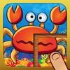 Alle meine Tier-Puzzles - Lustiges Lernspiel für Kinder und Kleinkinder (Dinos, Unterwasserwelt, Dschungel, Insekten)