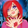 Monster Girl Long Nails Makeover saloon in Scary House PRO