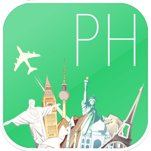 Philippines Offline map & flights. Airline tickets, airports, car rental, hotels booking. Free navigation. iOS App