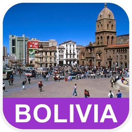 玻利维亚 离线地图 – PLACE STARS