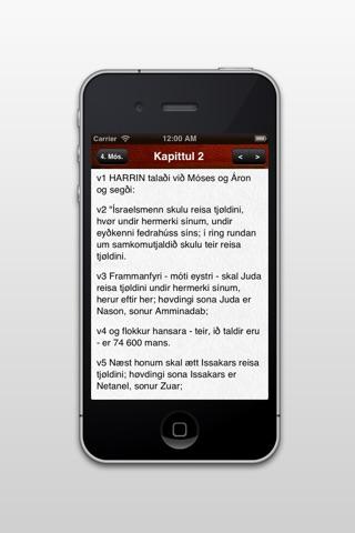 Bíblian screenshot 2