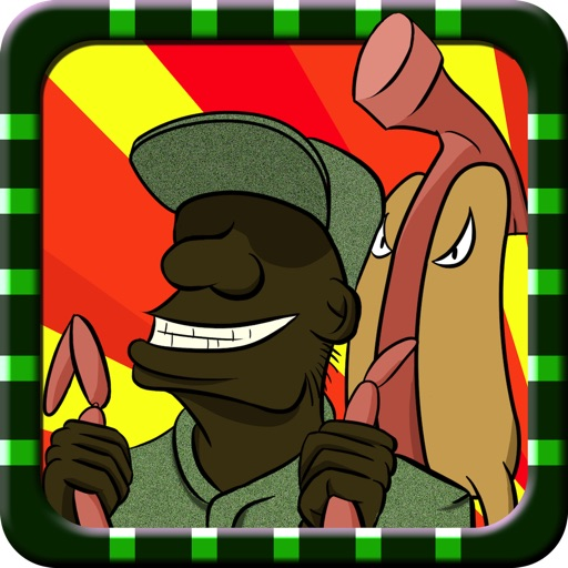 Gomer & Basher Army Thanksgiving Day Barbecue Mayhem - Great Dream Military Fun Run on US Government Shutdown - Free iPhone/iPad Edition Racing Game iOS App