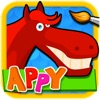 Appy Puzzles for Coloring - Painting Games for Kids