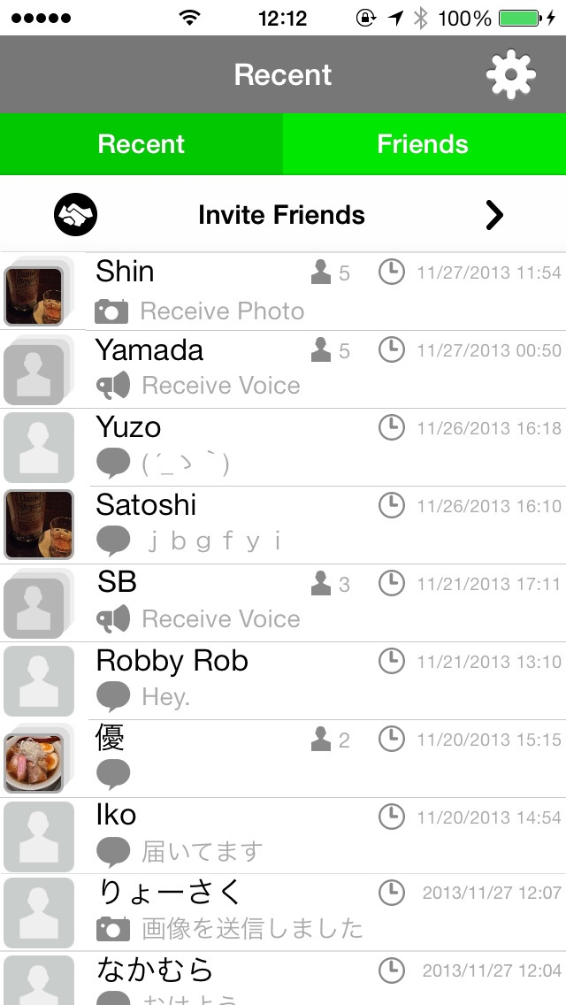 Screenshots of WaZapp - what's up? for iPhone