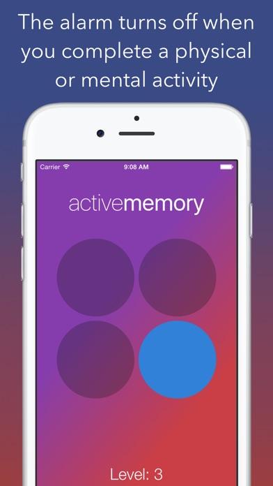 Active Alarm Screenshot