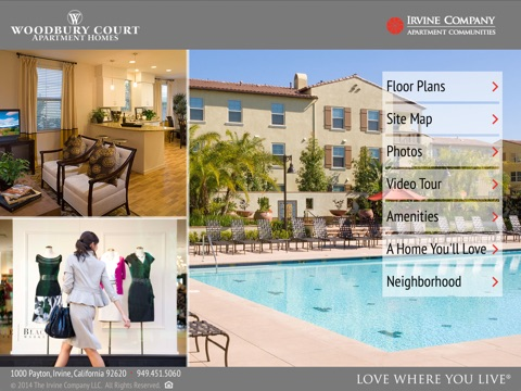 Woodbury Court Apartment Homes screenshot 1