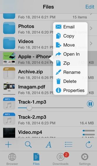 DownloadMate - Music,... screenshot1