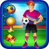 Звезд Мирового Футбола - Бесплатный Одеваются Игры